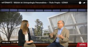 ¡Nuevo! video de presentación: III Edición Máster online de Antropología Personalista (2018-2019)