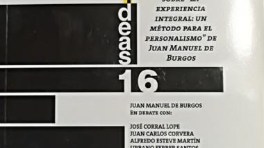 «Sobre La Experiencia Integral: un Método para el personalismo de Juan Manuel Burgos» de Corral Lope, Jose,etc.
