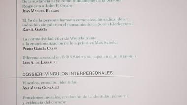 Publicación N10 «Quién. Revista de Filosofía Personalista»