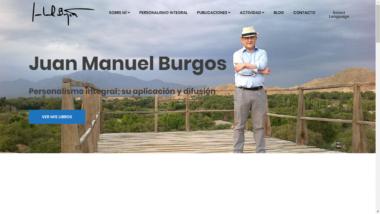 Juan Manuel Burgos, Presidente y Fundador de la AEP abre su página web personal: www.juanmanuelburgos.es