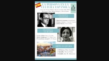 Éxito del Curso de Verano Online «La persona en la cultura española» (12-16 de julio, 2021)