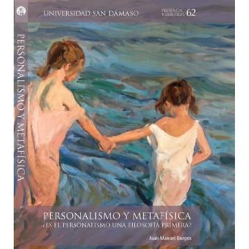 """""""Metafísica y personalismo"""" de Juan Manuel Burgos"""